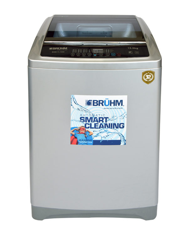 Bruhm Washing Machine BWM-TL150H in Kenya Top Load Washing Machine - Full Automatic,15 KGS Wash